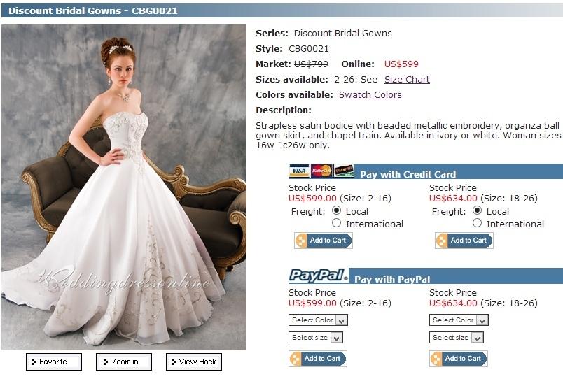 Ar verta pirkti vestuvines sukneles internetu?