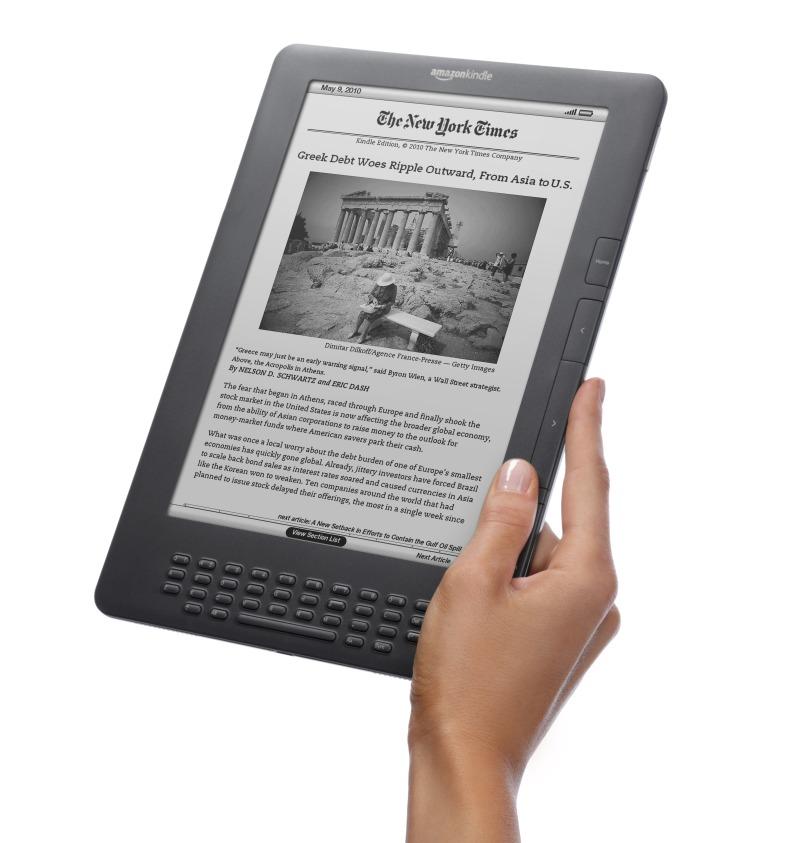 Elektroninės skaityklės – puiki alternatyva knygoms