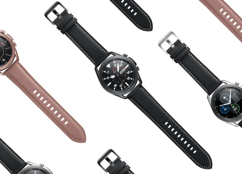 """""""Samsung"""" kompanijos """"Galaxy Watch 3"""" išmanusis laikrodis"""